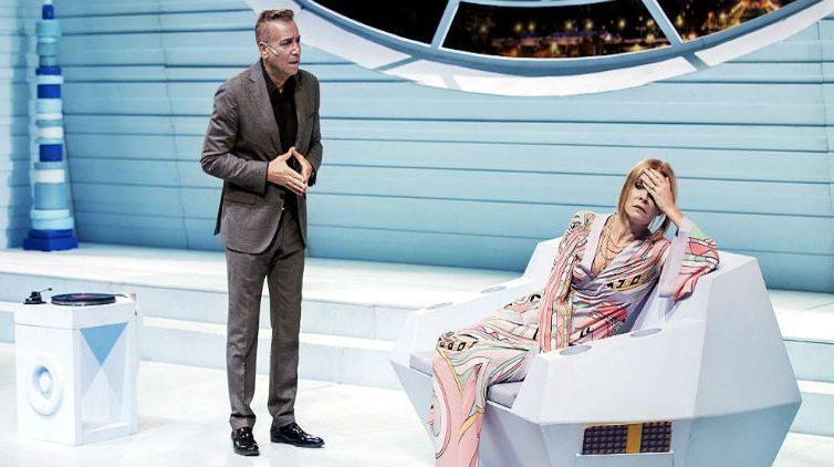 Massimo Ghini in Un'ora di tranquillità in scena a Napoli al Teatro Diana