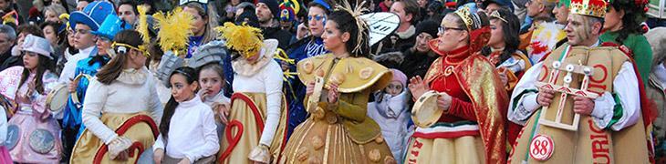 Costumi di Carnevale a Palma Campania