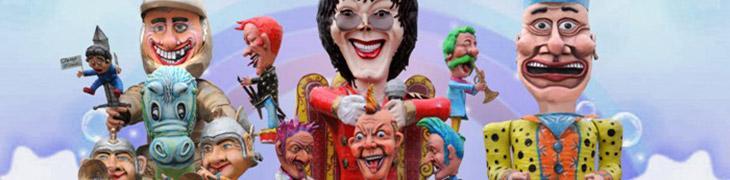Carri allegorici di Carnevale a Palma Campania
