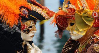 Festa di Carnevale 2017 nel quartiere Vomero a Napoli