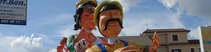 Carri di Carnevale a Saviano in Campania
