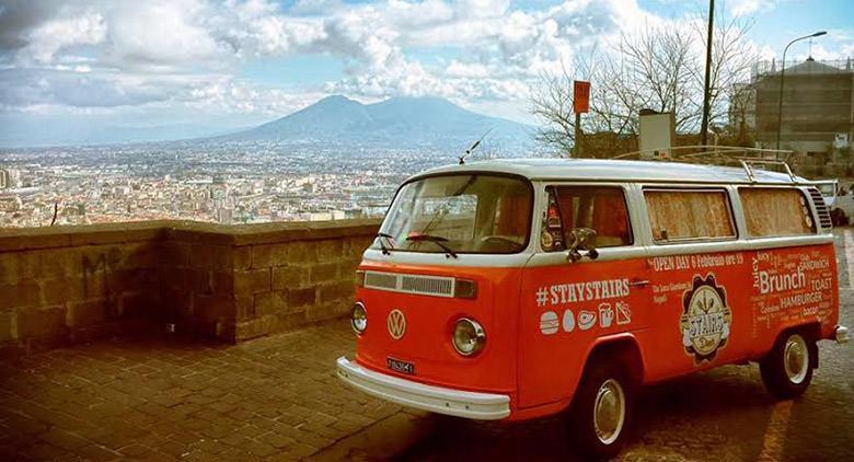 Apre al Vomero, a Napoli, Stairs Diner, versione bistrot di Stairs Coffee