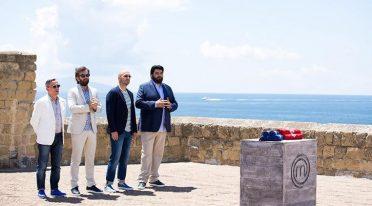 Puntata di Masterchef al Circolo Savoia di Napoli