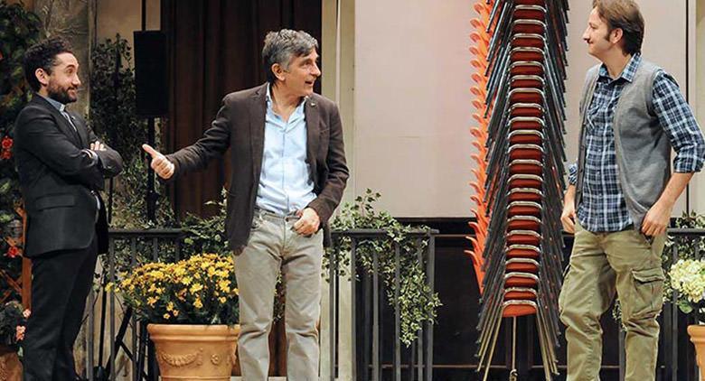Vincenzo Salemme in scena al Teatro Diana di Napoli con Una festa esagerata
