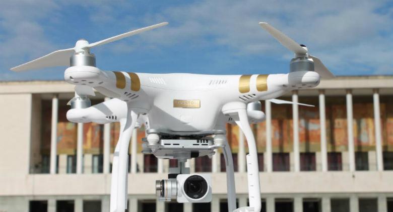drone show alla mostra d'oltremare di napoli