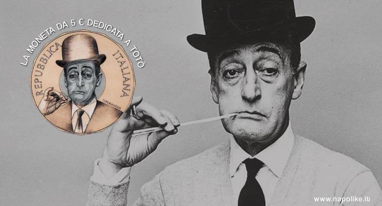 La Zecca di Stato conia una moneta da 5 euro per Totò