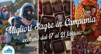 Le sagre in Campania nel weekend dal 17 al 19 febbraio 2017