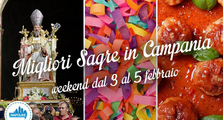 Sagre in Campania nel weekend del 3, 4 e 5 febbraio 2017