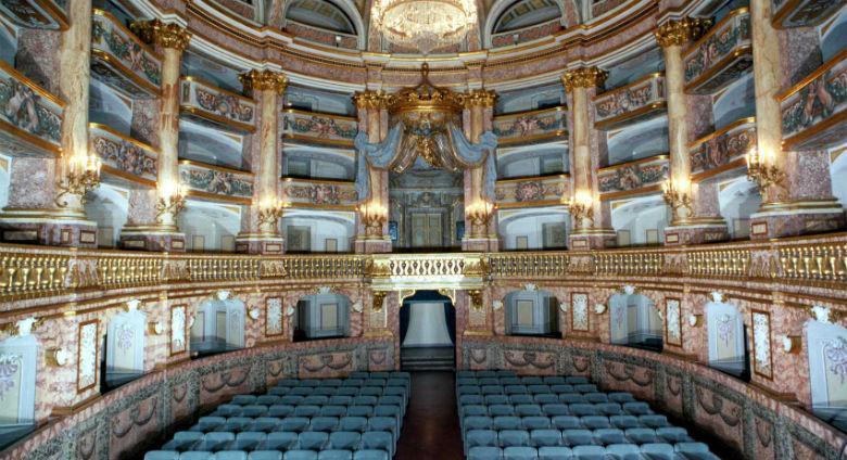 Il Teatro di Corte alla Reggia di Caserta riapre al pubblico ogni sabato e domenica