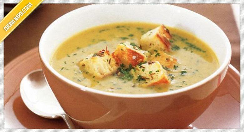 La ricetta napoletana della zuppa sedano e patate