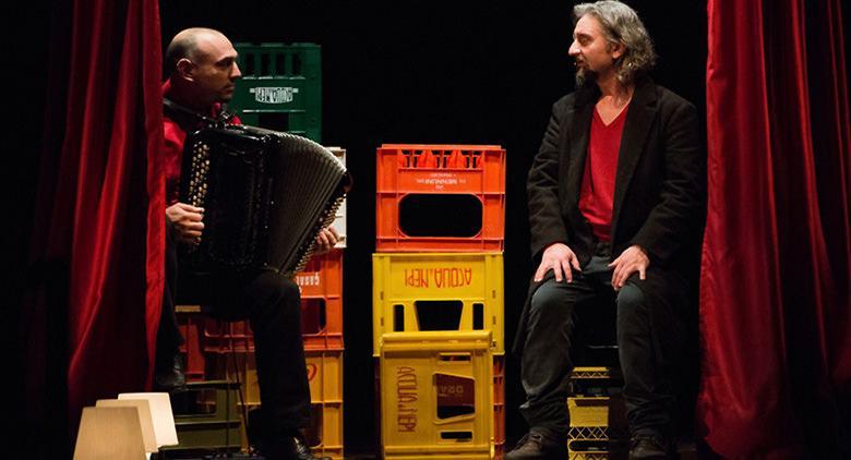 Laika, spettacolo di Ascanio Celestini al Teatro Nuovo di Napoli