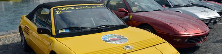 Raduno auto storiche e Ferrari a Bacoli