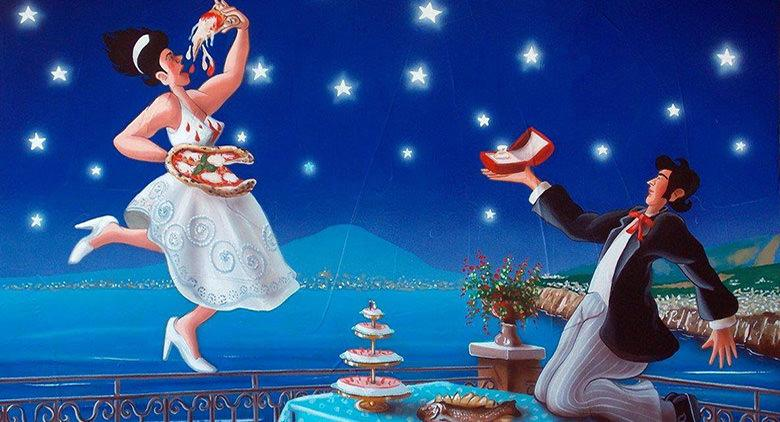Al Castel dell'Ovo mostra sulle canzoni di Napoli trasformate in quadri