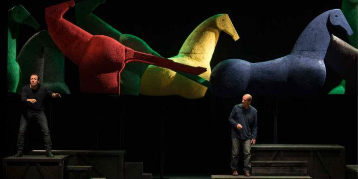 Giocando con Orlando al Teatro Bellini di Napoli