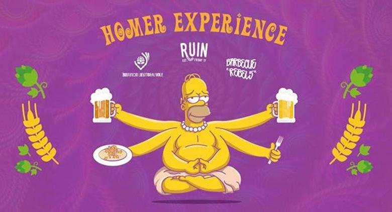 Birra Artigianale al Ruin del Vomero a Napoli con Homer Experience