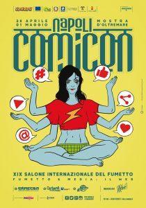Il manifesto integrale del Comicon 2017 a Napoli