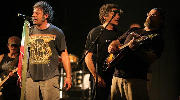 Al Mezzocannone Occupato a Napoli il concerto dei Modena City Ramblers