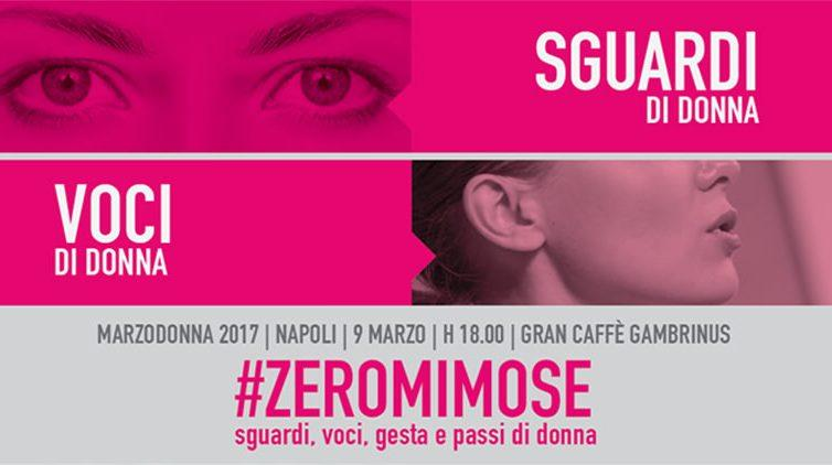 Al Caffè Gambrinus di Napoli, #Zeromimose per la Festa della Donna 2017