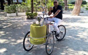 A Napoli arriva beerETTA, la birra in bicicletta