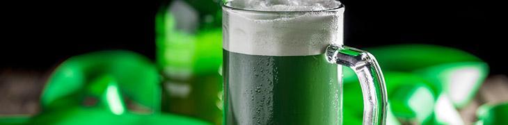 Birra verde per San Patrizio 2017 a Napoli