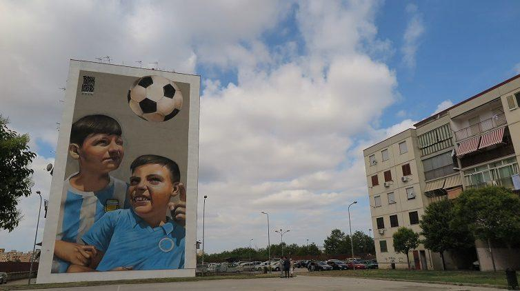 Torna lo Street Art Tour al Parco dei Murales