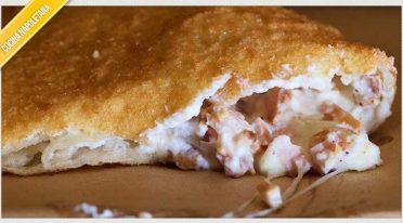 وصفة البيتزا المقلية مع الزيزفون والريكوتا