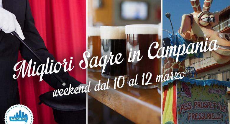 Sagre e feste in Campania nel weekend dal 10 al 12 marzo 2017