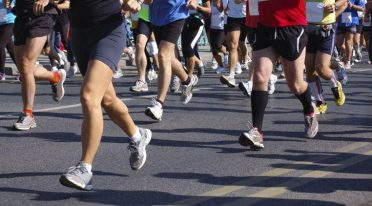 Running race of 10 km in Naples for Amatrice