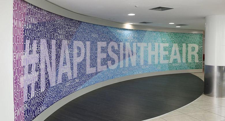 All'Aeroporto di Capodichino la mostra Naples in the Air