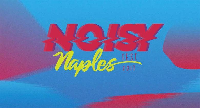 Locandina del Noisy Naples Fest a Napoli