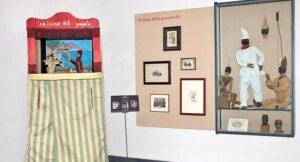 locandina di Mostra per Picasso alla Certosa di San Martino a Napoli con le opere che lo ispirarono