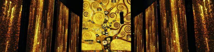 Климт Опыт, в Королевском дворце Казерта мультимедийная выставка