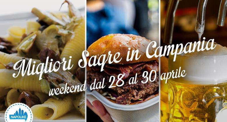 Le migliori sagre in Campania nel weekend del 28, 29 e 30 aprile 2017