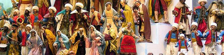 Die Via dei Presepi, San Gregorio Armeno in Neapel