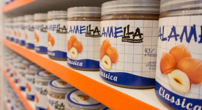 Apre a Napoli l'Emporio Galamella dedicato alla crema spalmabile made in Napoli