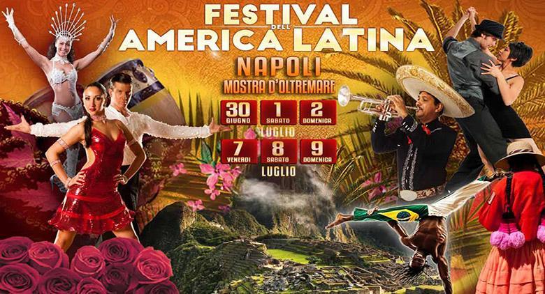 Alla Mostra d'Oltremare di Napoli il Festival dell'America Latina
