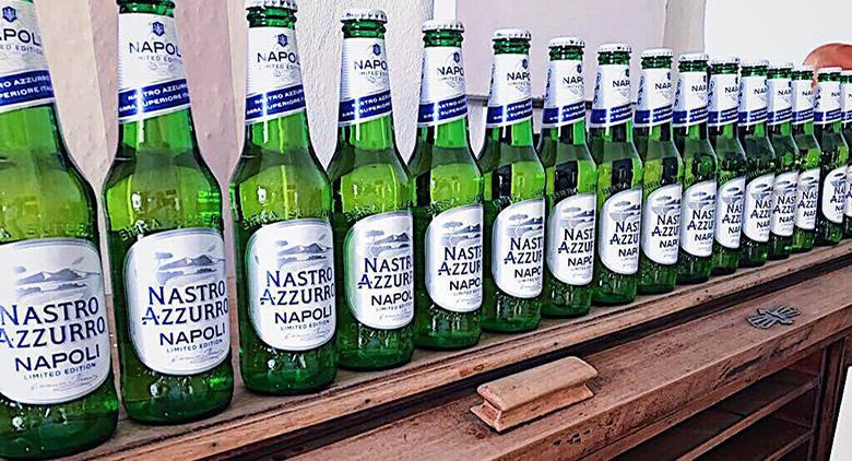Birra Nastro azzurro dedicata a Napoli