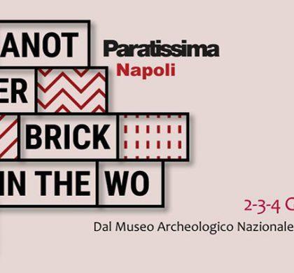 Paratissima Napoli, opere d'arte ed eventi gratis dal Museo Archeologico a Piazza Bellini