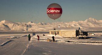 Mostra interattiva in Piazza Plebiscito sul Polo Nord