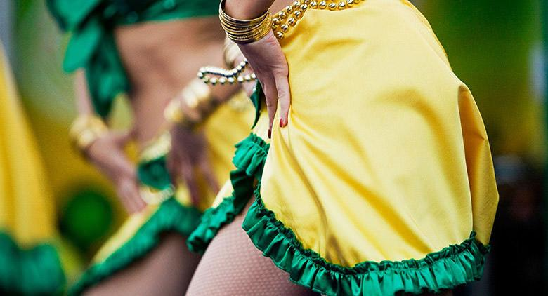Musica e balli con Samba Napoli