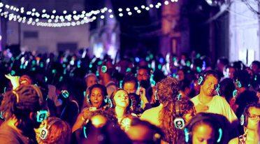 Silent Disco a Napoli alle Notti del Nilo