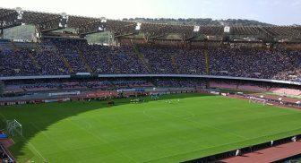 Allo Stadio San Paolo di Napoli la Partita del Sole
