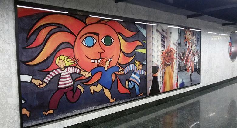 Metro Art Tour nelle Stazioni dell'Arte di Napoli con visite guidate gratuite