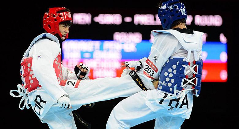 Taekwondo alla Settimana della cultura coreana a Napoli