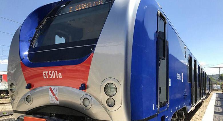Il modello del nuovo treno della Cumana
