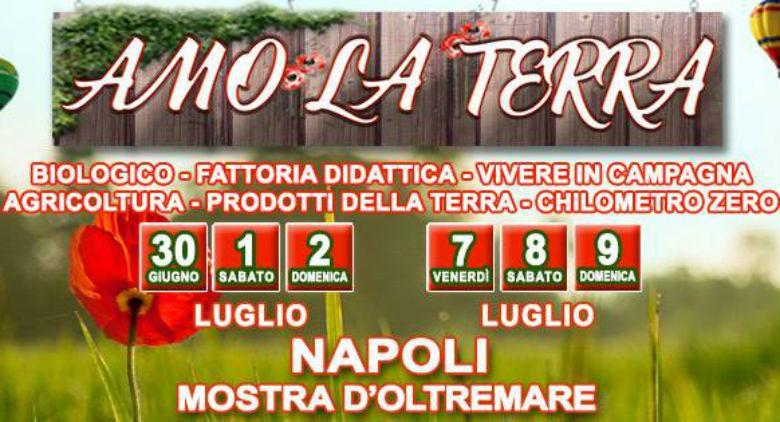 Amo la Terra Mostra d'Oltremare Napoli