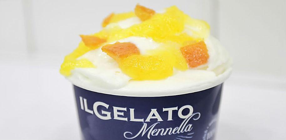 Mennella's ice cream in Naples