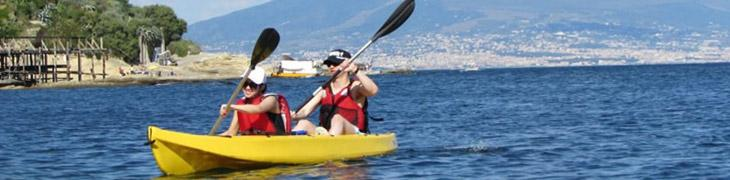 Corsi gratuiti di kayak a Napoli