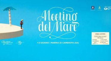Locandina del Meeting del mare 2017 a Marina di Camerota