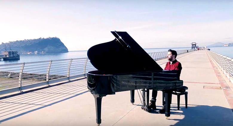 Sul Pontile di Bagnoli a Napoli, eventi musical al tramonto